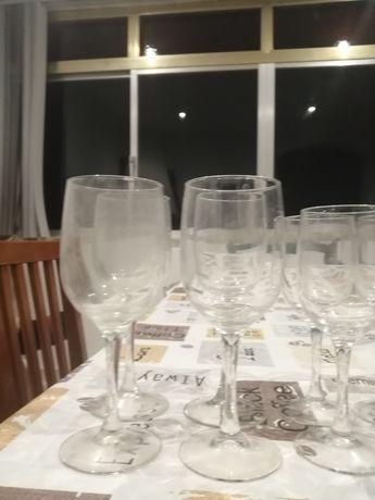 Conjunto vários copos