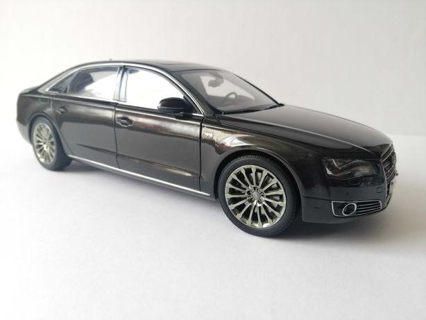 Audi A8 W12 2010, Kyosho, skala 1:18
