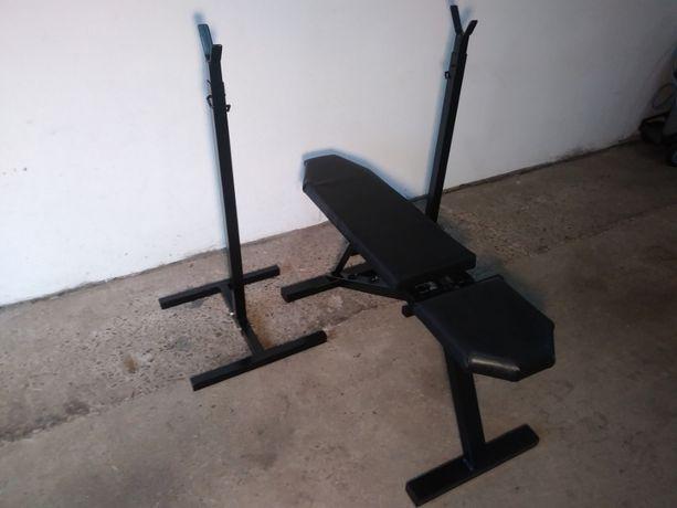 ławeczka do ćwiczeń wyciskania ławka regulowana treningowa