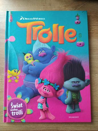 Trolle Świat według trolli książka Egmont Dream Works