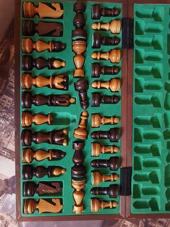 Шахматы резные дерево ручная работа