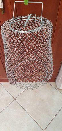 Сумка,сетка металлическая для рыбы СССР.