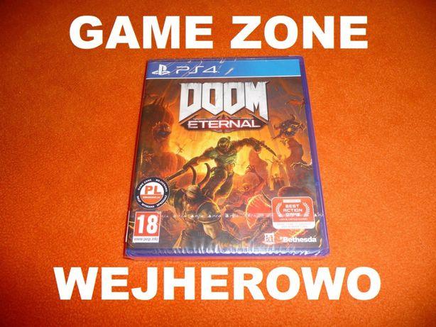 Doom Eternal PS4 + Slim + Pro = PŁYTA PL Wejherowo