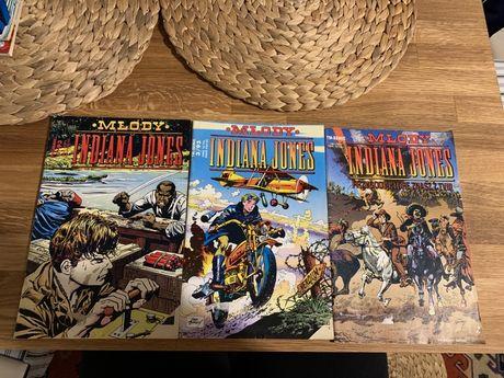 Komiks Indiana Jones 1/93 3/93 4/93