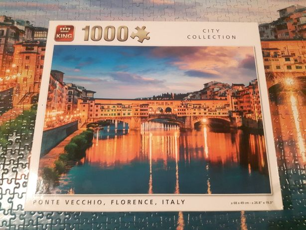 Puzzle 1000 Florencja Włochy city collection