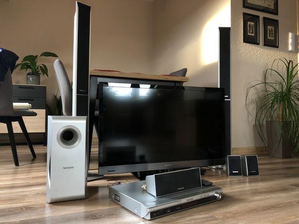TV Sony + kino domowe Panasonic (w zestawie)
