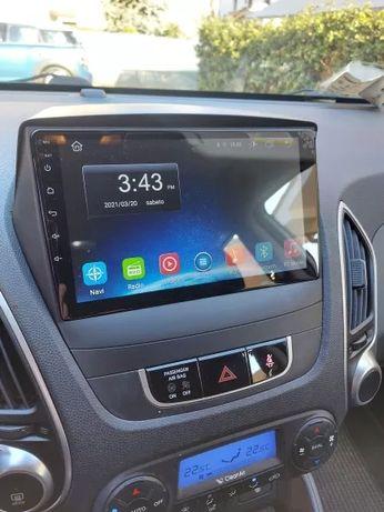 Hyundai Tuscon 2 ix35 2009 - 2015 radio wyświetlacz android + carplay