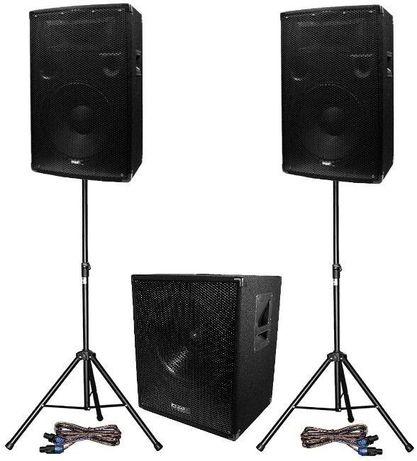 WYNAJEM Nagłośnienie DJ TANIO!! Głośniki & Mikser & Okablowanie & Oświ