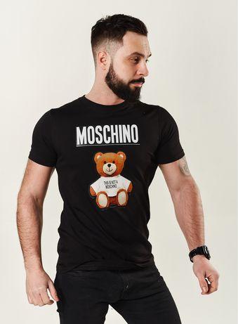 Футболка moschino|купить футболку|100%хлопок|футболки|чоловічий одяг