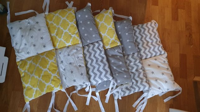 Бортики в детскую кроватку для девочки или мальчика Mammydo