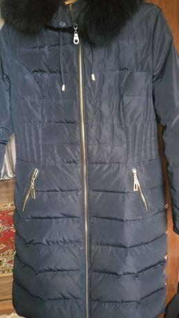 Пуховик пальто куртка зимова роз 48