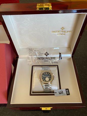 Relógio Automático Patek Phillippe Nautilus Com Caixa - Novo