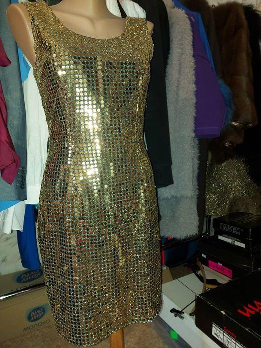 Платье пайетки золотое Кривой Рог - изображение 1