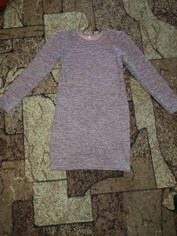 Костюм платье +накидка на 140 см