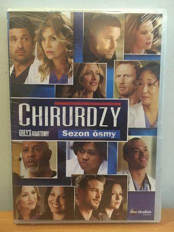 Grey's Anatomy - Chirurdzy - Sezon Ósmy - Season 8 - Nowy - Folia