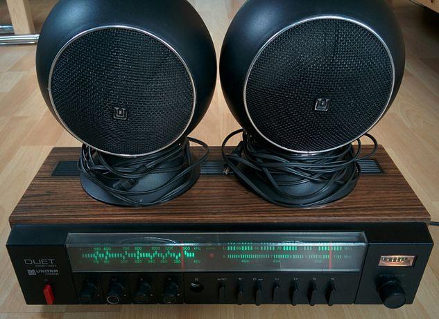 Unitra Diora Duet DSP-301 + ZG 8-C/2 super stan amplituner stereo kule