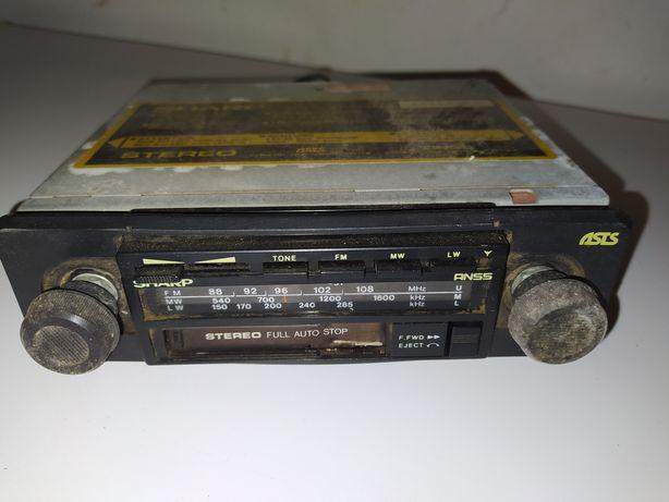 Auto Radio Antigo Classico Antiguidades Carro