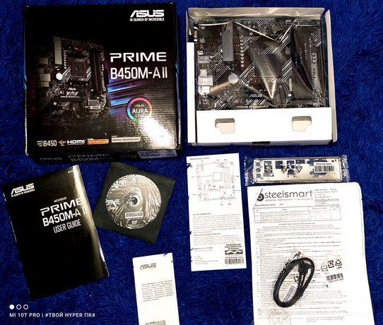 Новая плата АМ4 PRIME B450