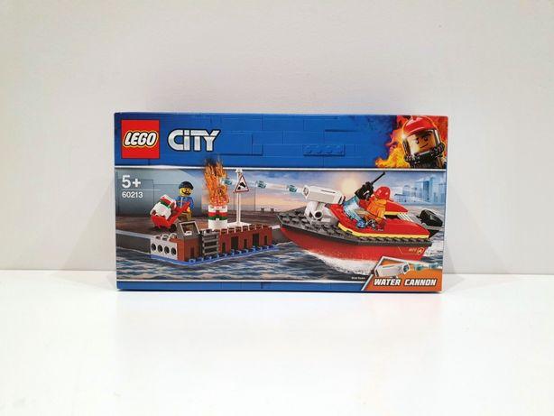 Lego CITY 60213 Pożar w dokach