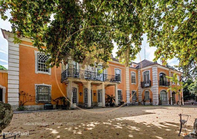 Majestoso palacete no coração de Lisboa, de dimensões e característ...