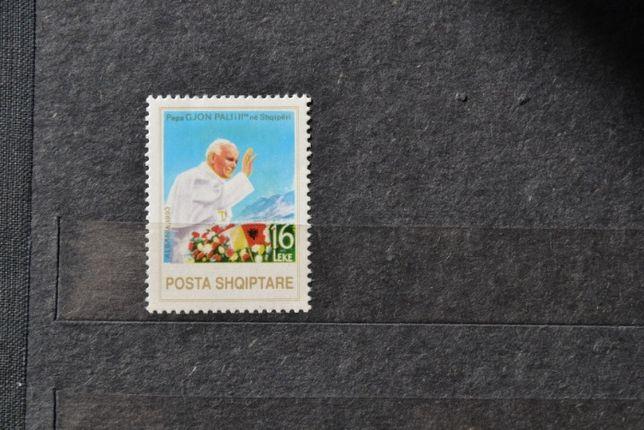 Znaczki. Albania. Papież Jan Paweł II **