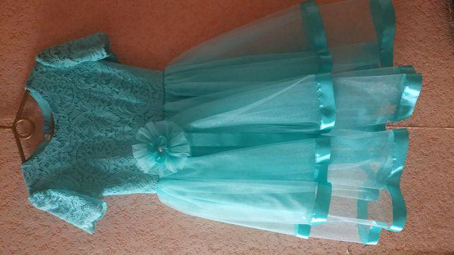 Набор нарядное платье и туфли