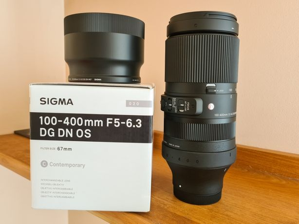 Sigma 100-400mm F5-6.3 DG Dn Os Sony E - # NOWA SZTUKA