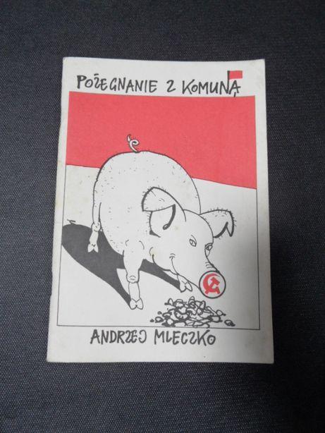 Pożegnanie z komuną - Andrzej Mleczko książka - komiks