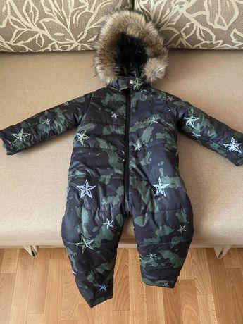 Новый зимний комбинезон детский размер 86 см - 92 см