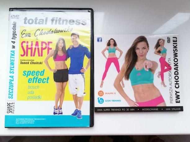 Płyty DVD z ćwiczeniami z Ewą Chodakowską