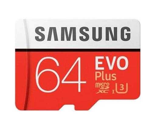 Карта памяти microSD Samsung EVO Plus 64 Gb (от 2 шт скидка 10%)