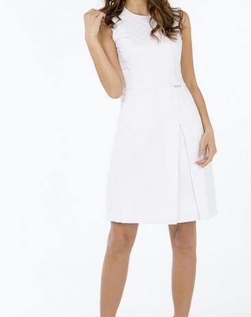 Biała sukienka Monnari roz. 40
