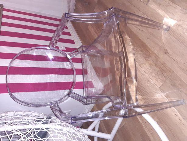 Krzesło nowe krzesla 12 sztuk przeźroczyste transparentne
