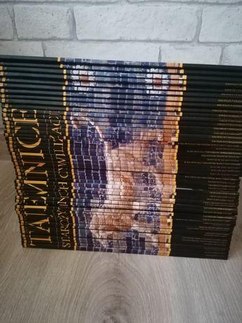 Kolekcja książek Tajemnice Starożytnej cywilizacji 56 szt
