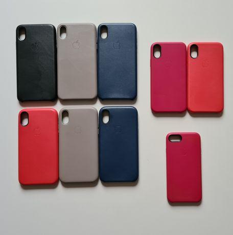 Etui case skórzane Apple IPhone 5 5s 5c SE 6 6S PLUS 7 8 X XR XS MAX