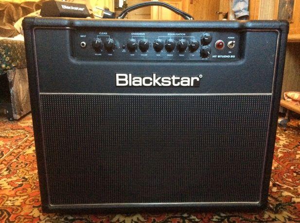 Гитарный усилитель Blackstar HT-20 Studio ламповый