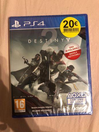 Destiny 2 gra PS4 płyta w folii