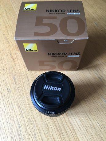 Nikon 50mm 1.2 Ais como nova.