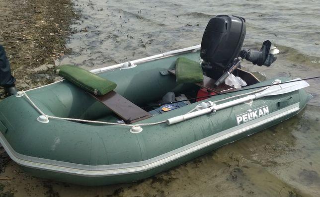 Продам лодку пвх Пеликан 2.70м