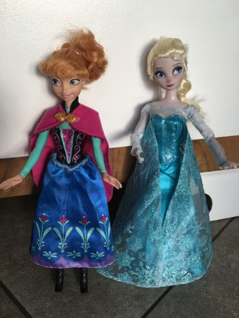 Kraina Lodu Anna i Elsa Elza oryginalne Mattel lalki Barbie Idealne