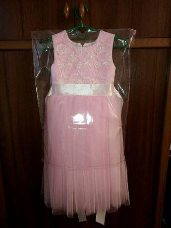 Платье розовая