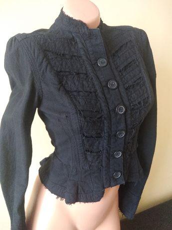 Gotycki czarny żakiecik miss selfridge
