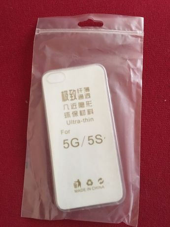 Cienkie etui silikonowe IPhone 5/5s/se