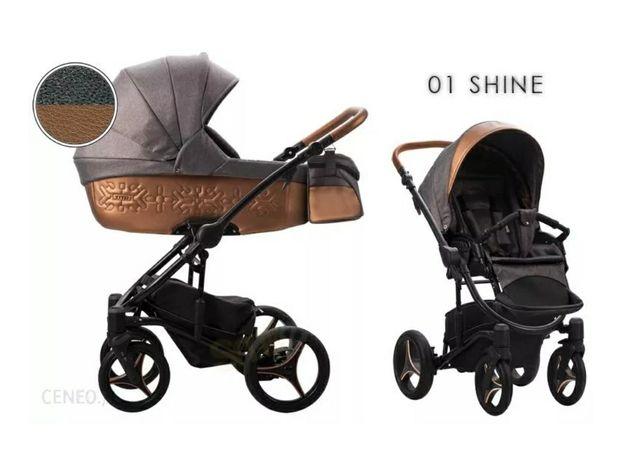 Wózek Bebetto Tito Shine 2w1