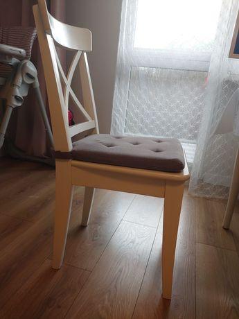 Krzesło Ikea białe