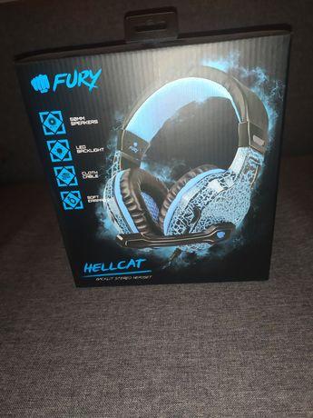 Słuchawki gamingowe Fury