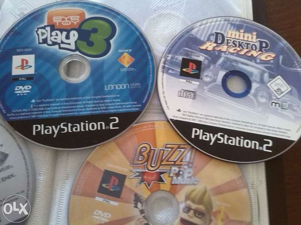 Jogos para PS2 (lista em anexo)