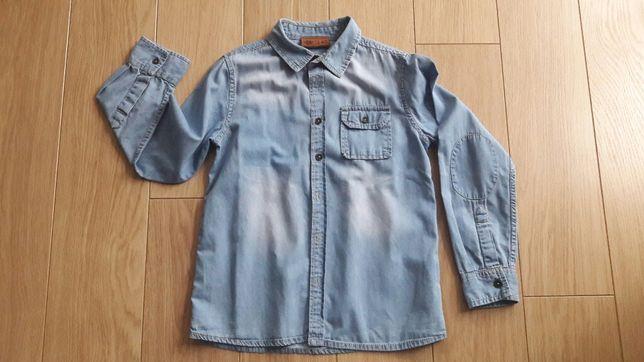 Koszula Cool Club 140 jeans przecierany