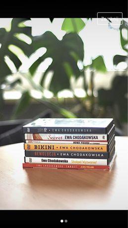 Płyty DVD z ćwiczeniami Ewy Chodakowskiej