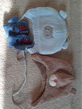 Nowa czapka CoolClub r.46/48 + czapka i rękawiczki